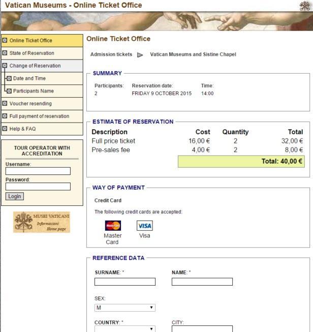 כרטיסים לותיקן תשלום