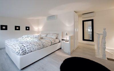 מלון כשר ברומא – Black and white suite