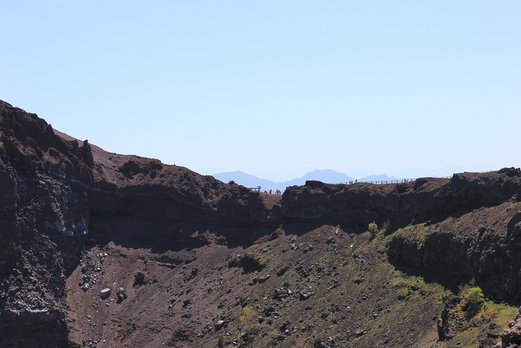 הר געש וזוב volcano vesuvio