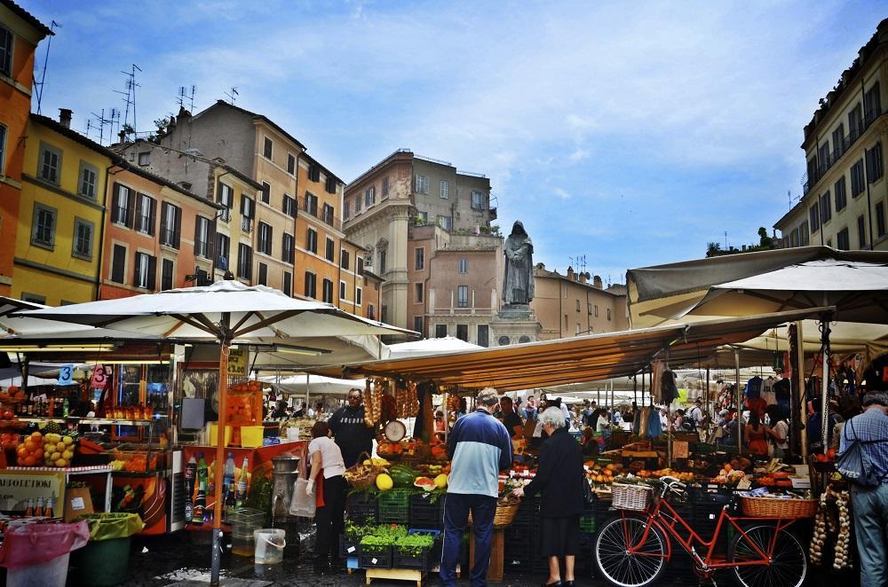 שווקים ברומא קמפו די פיורי