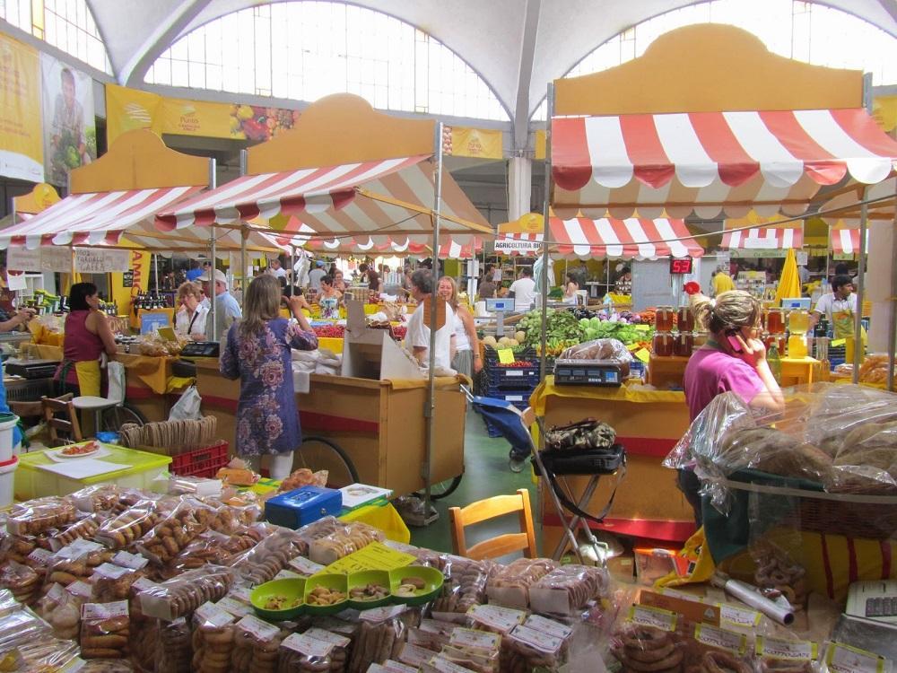 שוק אורגני רומא